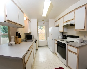 Hillsboro student housing kitchen