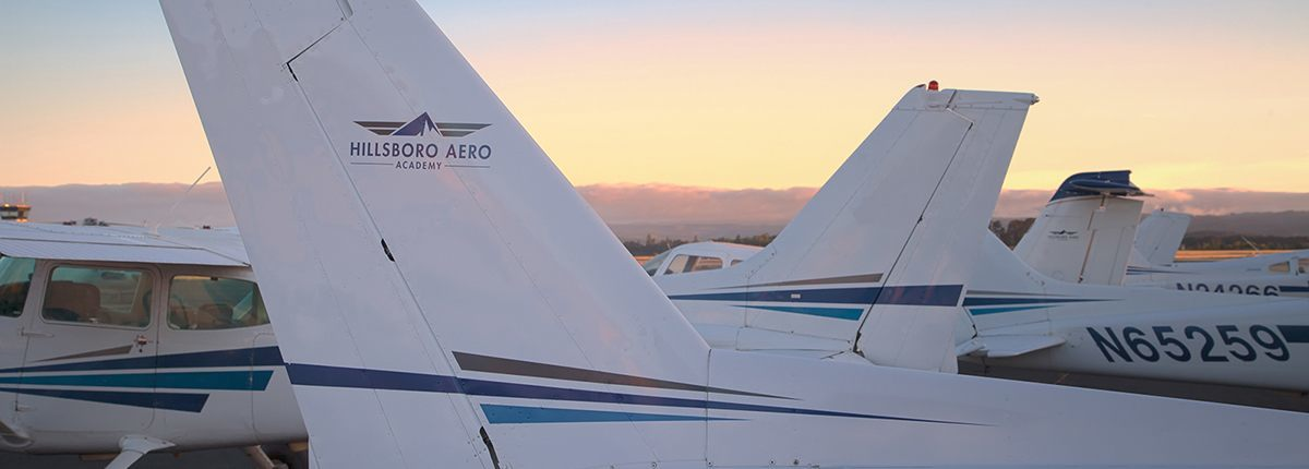 Cessna airplane tails
