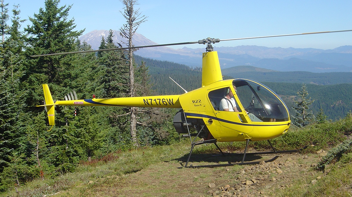 Helicopter private pilot course