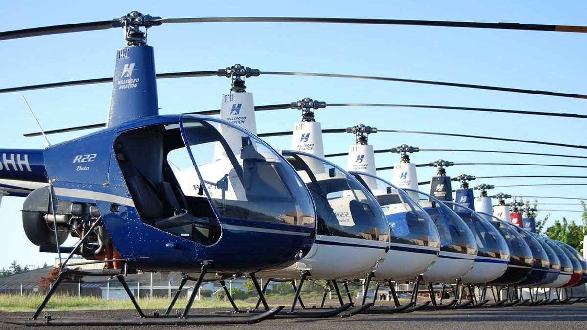 Hillsboro Aero Academy Helicopter Aircraft Fleet