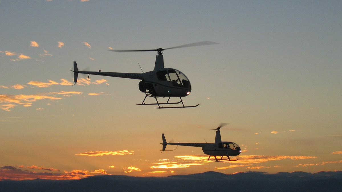 Helicopter CFI course