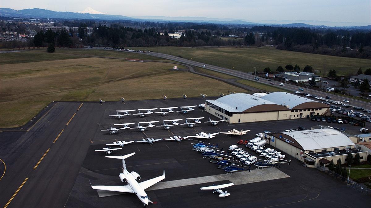 Hillsboro Aero Academy flight training historical image