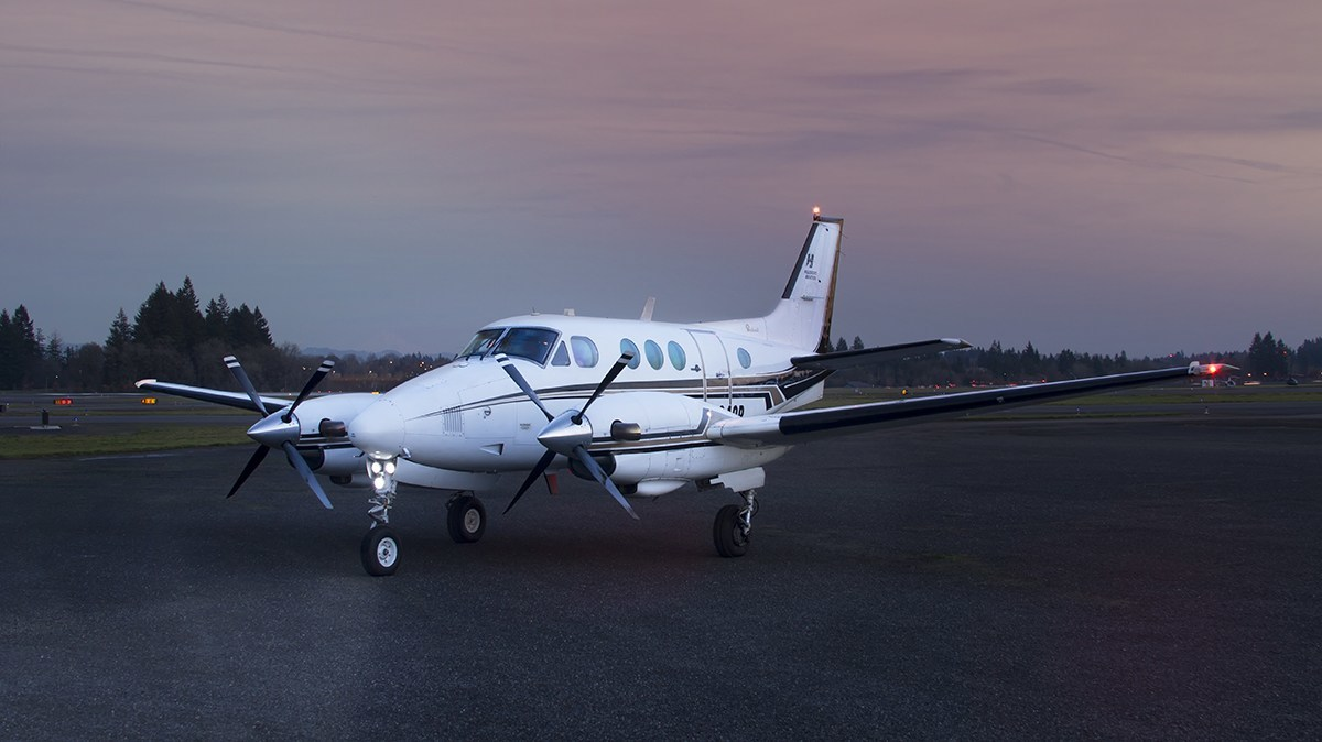 King Air airplane specialty training