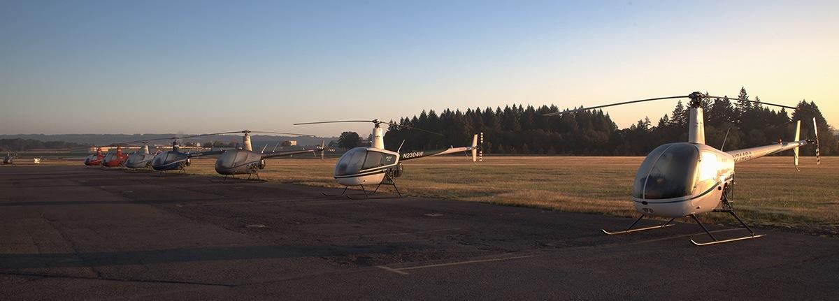 HAA Hillsboro campus helicopter ramp