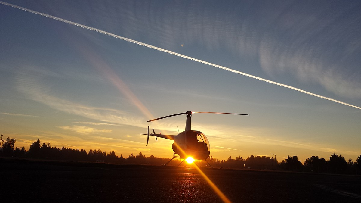 Helicopter professional pilot program at HAA