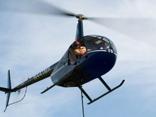 Robinson R44 helicopter training