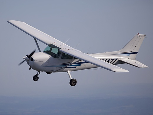 Cessna airplane flight training