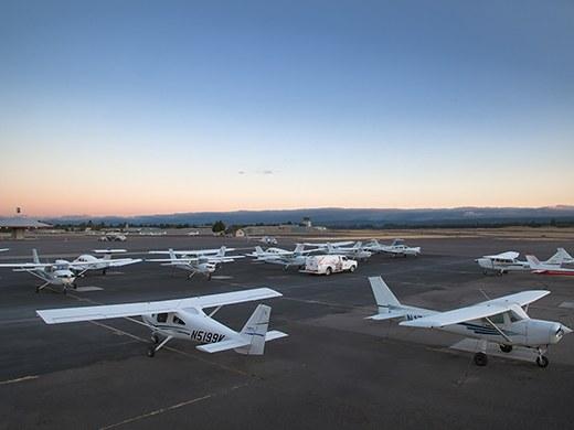 Hillsboro Aero Academy Cessna Fleet