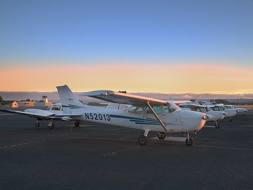 Hillsboro Aero Academy Airplane Flight Line
