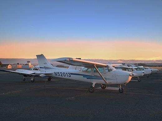 Hillsboro Aero Academy Airplane Flight Line