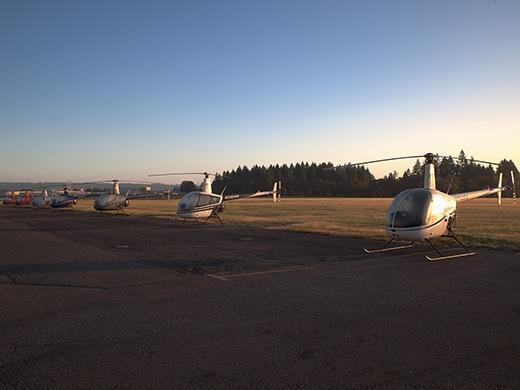 Hillsboro Aero Academy Robinson Fleet