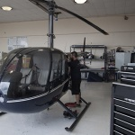 HAA Hillsboro campus helicopter maintenance