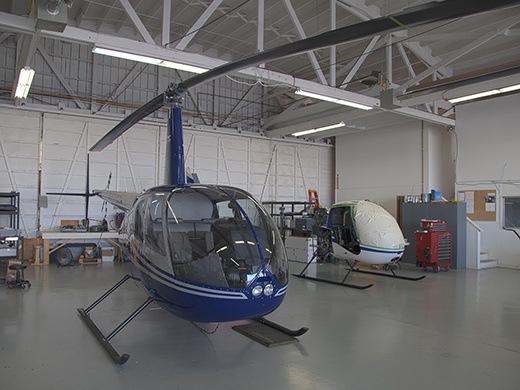Robinson Overhaul Hangar
