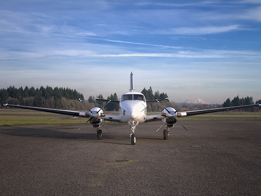 King Air multi-engine training in Oregon