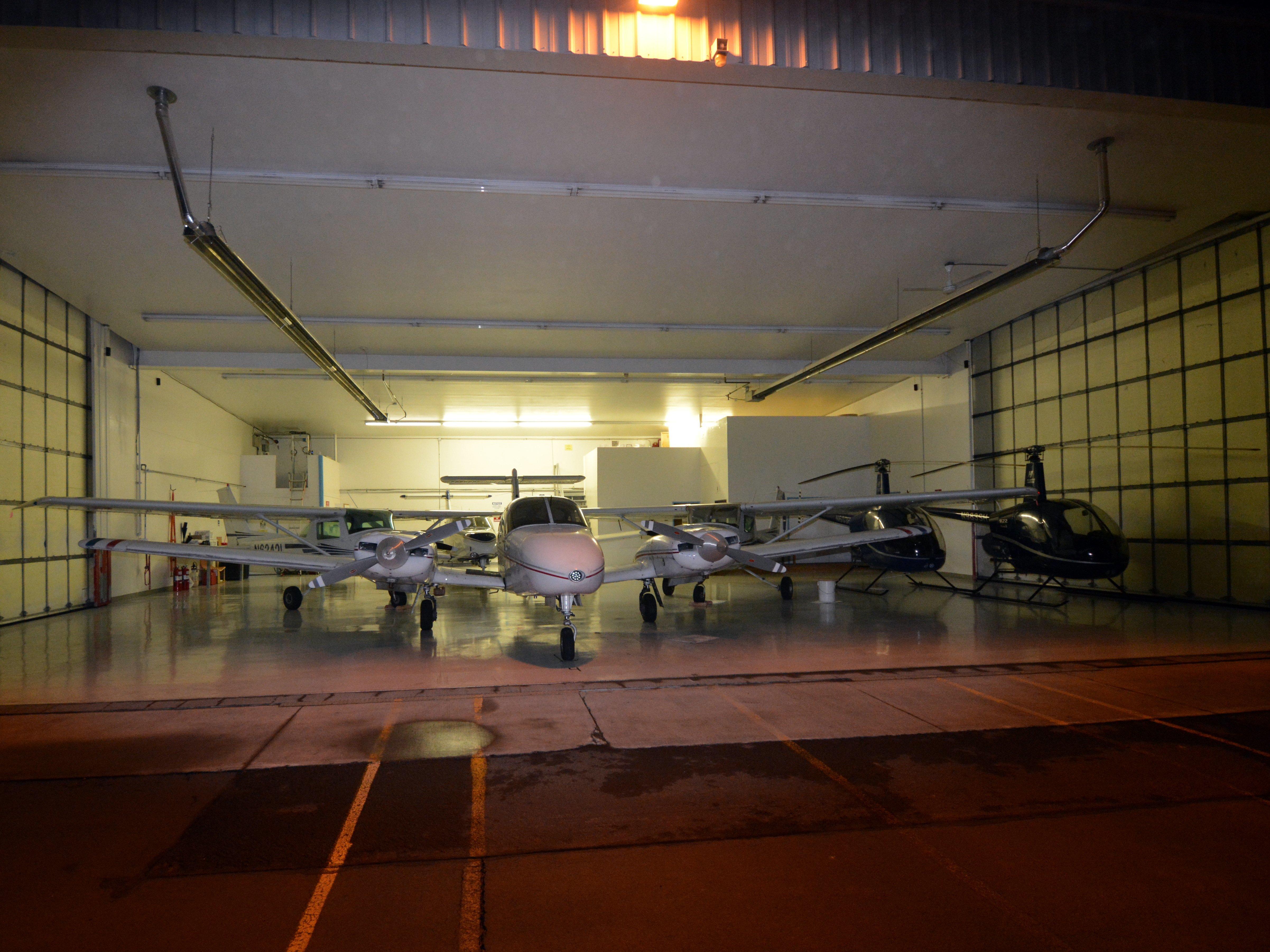 HAA Prineville campus hangar