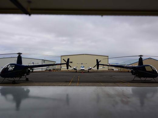 HAA Prineville campus aircraft and hangar