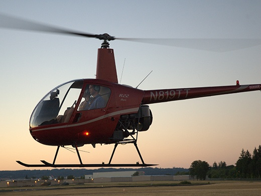 R22 Instrument Equipped Helicopter