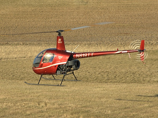 Robinson Instrument Helicopter Training in Oregon