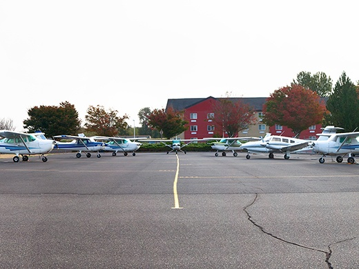 HAA Troutdale Campus Airplane Flight Line