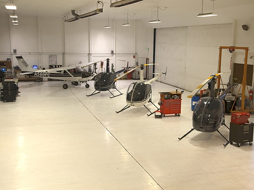 HAA Troutdale Campus Maintenance Hangar
