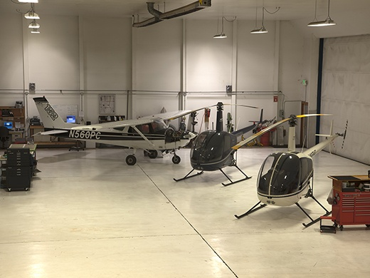 Troutdale Campus Aircraft Maintenance