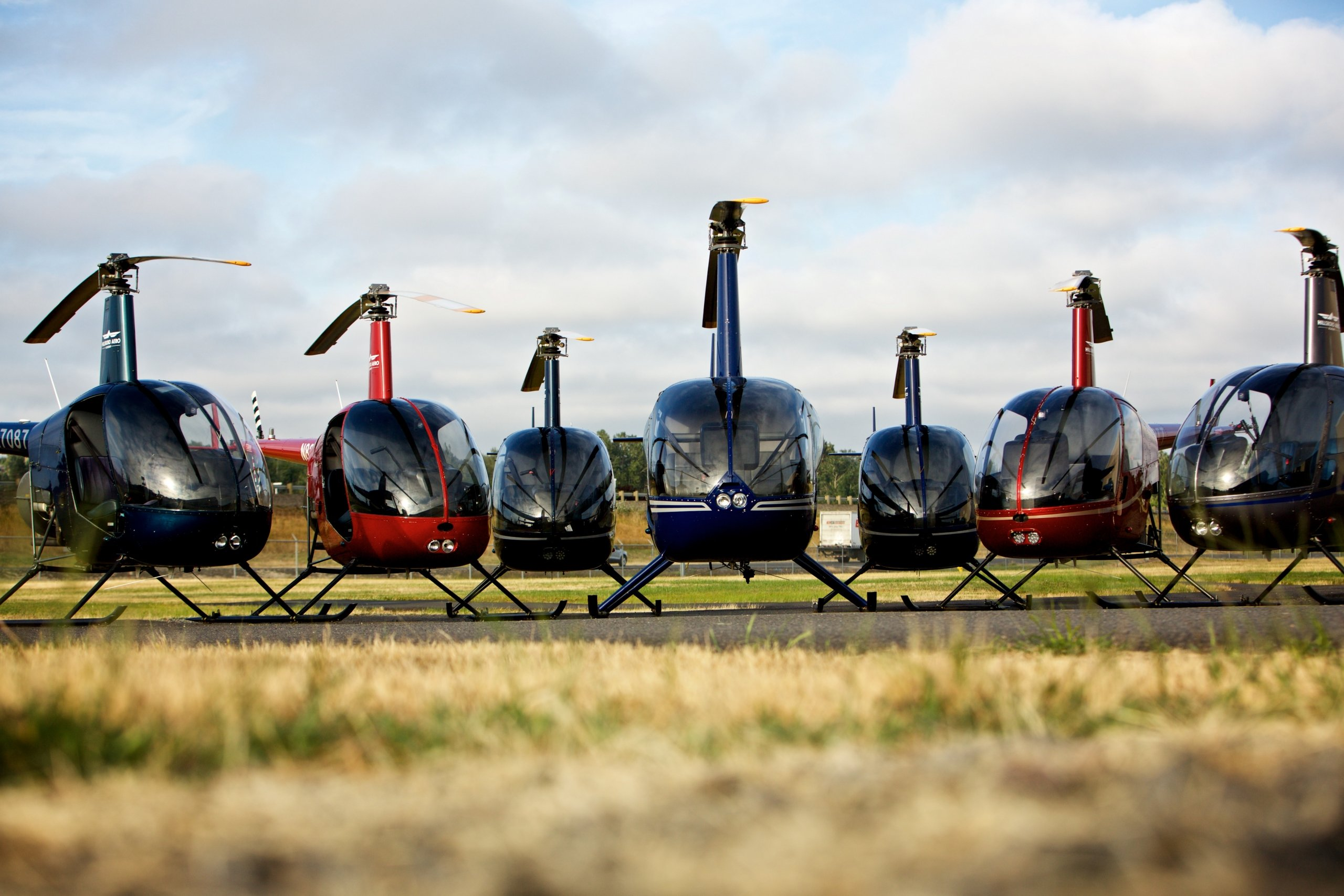 Hillsboro Areo Academy Helicopters